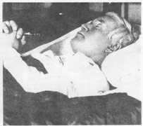St Pius X peaceful at death