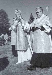 Bishop Williamson and Fr. Violette